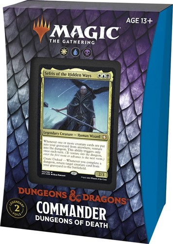 Magic The Gathering - Adventures in the Forgotten Realms Commander Deck - Dungeons of Death
