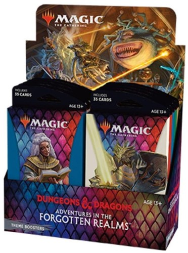 Magic The Gathering - Adventures in the Forgotten Realms Theme Boosterpack