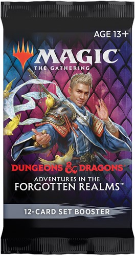 Magic The Gathering - Adventures in the Forgotten Realms Set Boosterpack