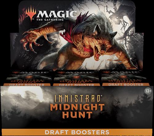 Magic The Gathering - Innistrad Midnight Hunt Draft Boosterbox