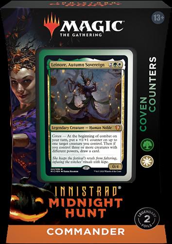 Magic The Gathering - Innistrad Midnight Hunt Commander Deck Leinore