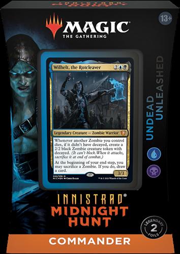 Magic The Gathering - Innistrad Midnight Hunt Commander Deck Wilhelt