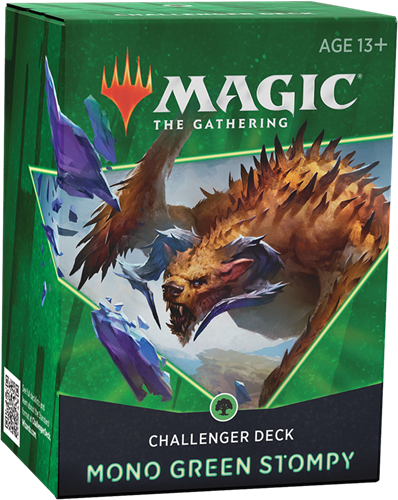 Magic The Gathering - Challenger Deck 2021 Mono Green Stompy