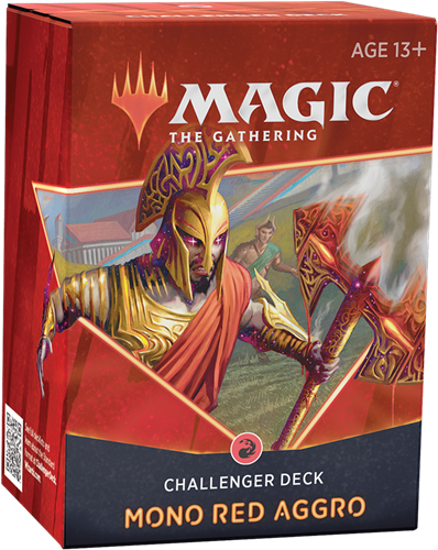 Magic The Gathering - Challenger Deck 2021 Mono Red Aggro