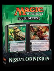 MTG Nissa vs Ob Nixilis Duel Decks