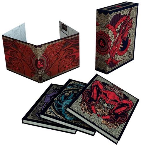 D&D RPG - Core Rulebook Gift Set CE Alternate Cover (Beschadigd)