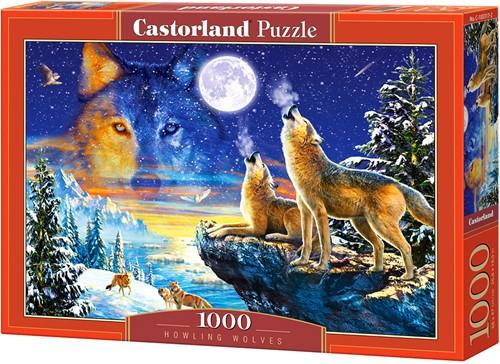 Howling Wolves Puzzel (1000 stukjes)