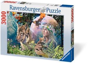 Ravensburger wolven in de manenschijn