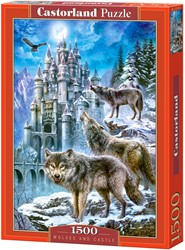 Wolves and Castle Puzzel (1500 stukjes)