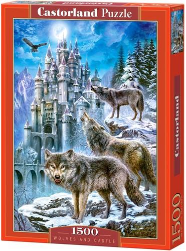 Wolves and Castle Puzzel (1500 stukjes)