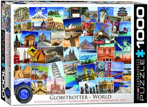 World - Globetrotter Puzzel (1000 stukjes)