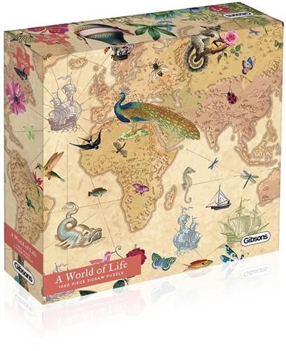 A World of Life Puzzel (1000 stukjes)