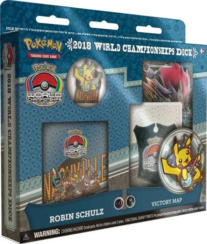 Pokemon World Champion Deck 2018 Blauw