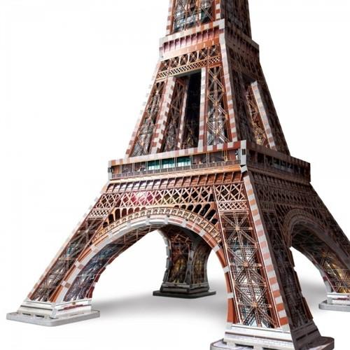 Wrebbit 3D Puzzel - Eiffeltoren (816 stukjes)-2