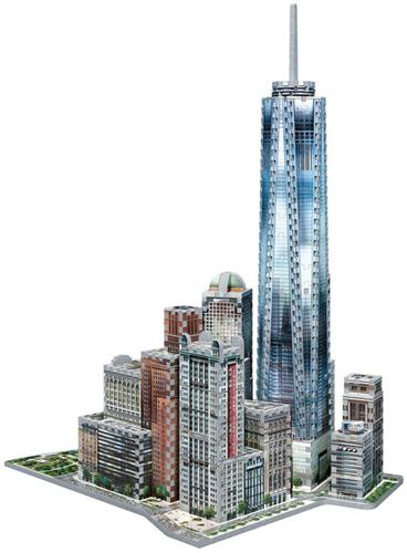 Wrebbit 3D Puzzel - New York WTC (875 stukjes)-2