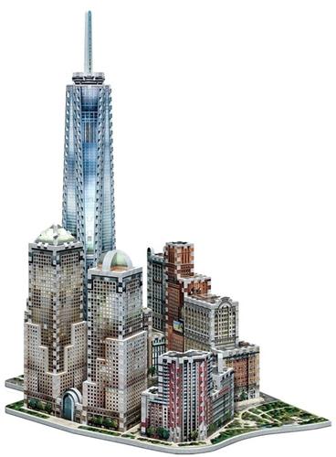 Wrebbit 3D Puzzel - New York WTC (875 stukjes)-3