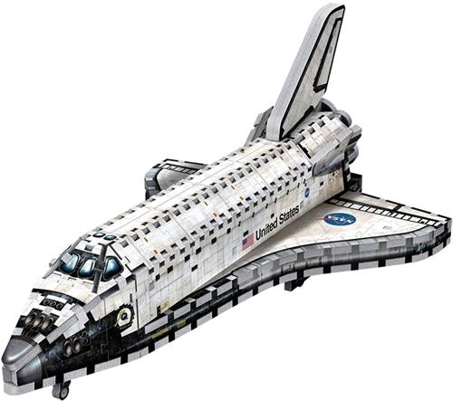 Wrebbit 3D Puzzel - Space Shuttle Orbiter (435 stukjes)-2