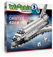 Wrebbit 3D Puzzel - Space Shuttle Orbiter (435 stukjes)