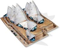 Wrebbit 3D Puzzel - Sydney Opera House (925 stukjes)-3