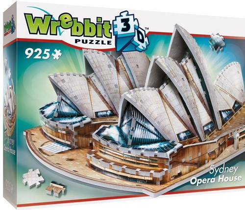 Wrebbit 3D Puzzel - Sydney Opera House (925 stukjes)-1