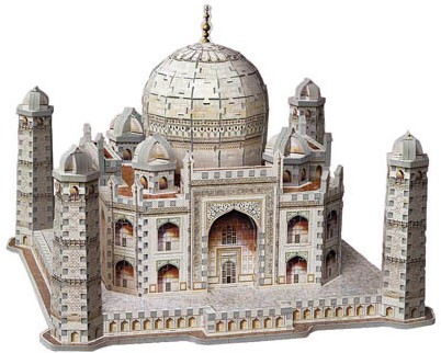 Wrebbit 3D Puzzel - Taj Mahal (950 stukjes)-2