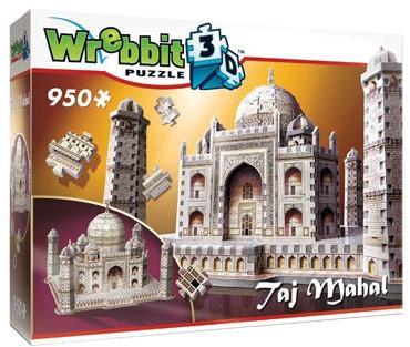 Wrebbit 3D Puzzel - Taj Mahal (950 stukjes)-1