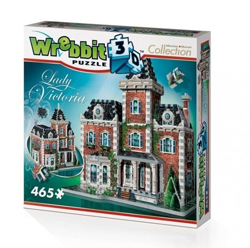 Wrebbit 3D Puzzel - Lady Victoria (465 stukjes)-1
