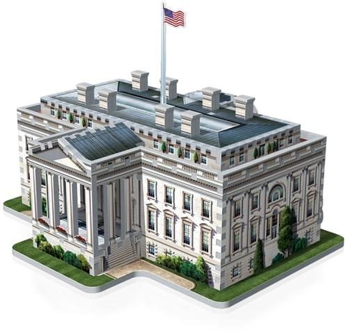 Wrebbit 3D Puzzel - White House (490 stukjes)-2
