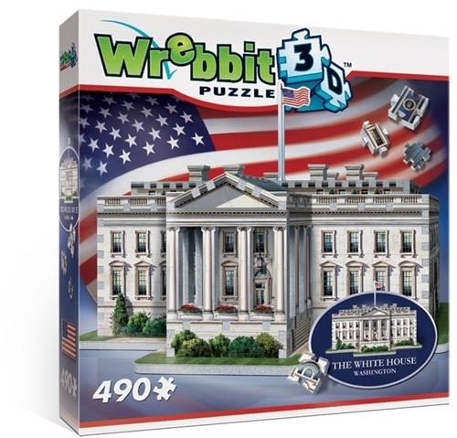 Wrebbit 3D Puzzel - White House (490 stukjes)-1