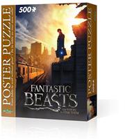 Wrebbit Poster Puzzel - Fantastic Beasts New York (500 stukjes)