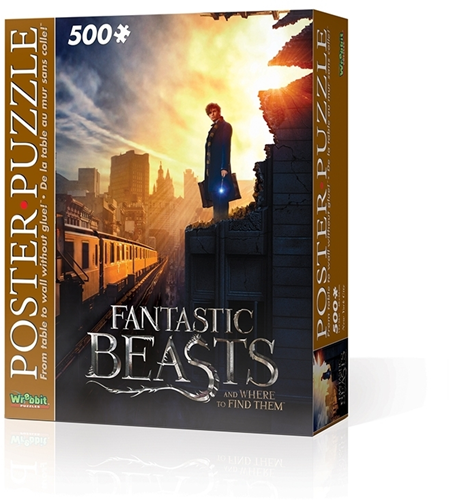 Wrebbit Poster Puzzel - Fantastic Beasts New York (500 stukjes)-1