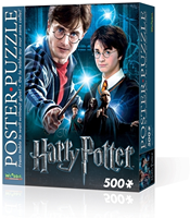 Wrebbit Poster Puzzel - Harry Potter (500 stukjes)-1