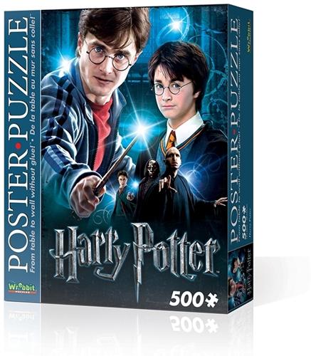 Wrebbit Poster Puzzel - Harry Potter (500 stukjes)