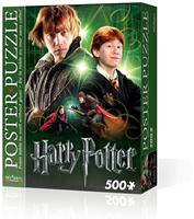 Wrebbit Poster Puzzel - Harry Potter Ron Weasley (500 stukjes)-1