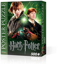 Wrebbit Poster Puzzel - H. Potter Ron Weasley (500 stukjes)