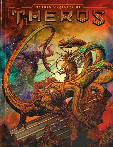 D&D - Mythic Odysseys of Theros Limited Edition Alternate Cover