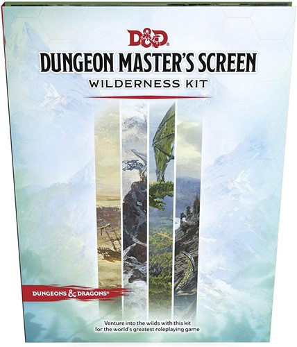 D&D 5.0 - Dungeon Master's Screen Wilderness Kit