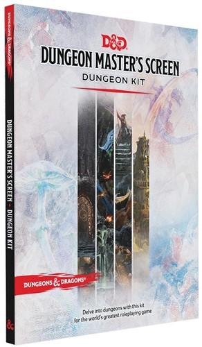 D&D 5.0 - Dungeon Master's Screen Dungeon Kit