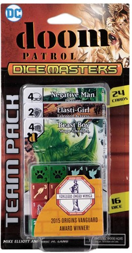 DC Dice Masters Doom Patrol Team Pack