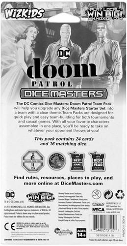 DC Dice Masters Doom Patrol Team Pack-2