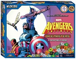Marvel Dice Master Avengers Infinity Campaign Box