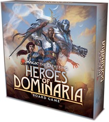 Magic The Gathering  - Heroes of Dominaria Board Game