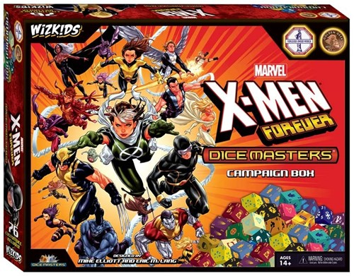 Marvel Dice Masters - X-Men Forever Campaign Box