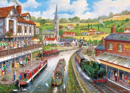 Ye Olde Mill Tavern Puzzel (1000 stukjes)