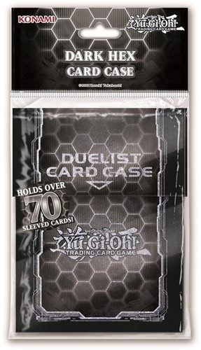Yu-Gi-Oh! - Standard Hex Black + Silver Card Case