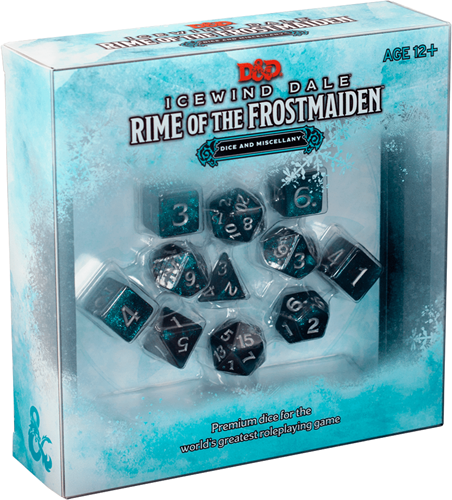 D&D - Icewind Dale Rime of The Frostmaiden Dice Set