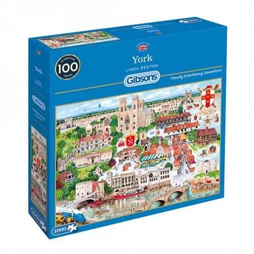 York Puzzel (1000 stukjes)