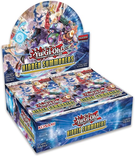 Yu-Gi-Oh! - Hidden Summoners Boosterbox