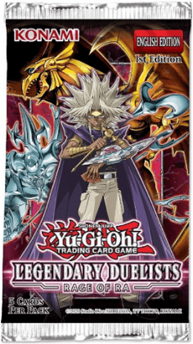 Yu-Gi-Oh! - Legendary Duelistst Rage of Raga Boosterpack