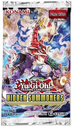 Yu-Gi-Oh! - Hidden Summoners Sleeved Boosterpack
